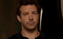 Sudeikis breaking the fourth wall.