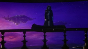 Seriously. That's Sayid on a magic carpet.