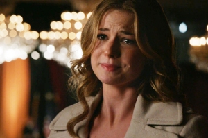 Hush now Emily, don't cry. We'll meet again if you're ever in anything decent.