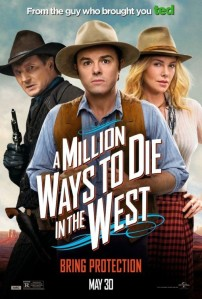 A Million Ways To Die In The West - Poster