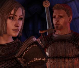 Warden & Alastair *smoochy face*