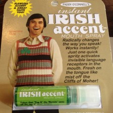 Instant Irish Accent